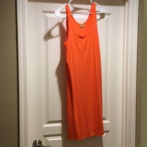 Piko 1988 orange dress